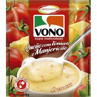 Sopa Vono Queijo com Tomate e Manjericão 16g