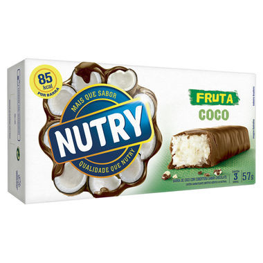 Barra de Cereais Nutry Coco 57g