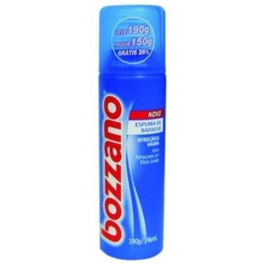 Espuma de Barbear Bozzano Refrescância Máxima 190g