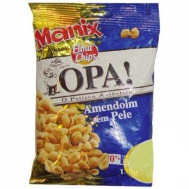 Amendoim Elma Chips Torrado e Salgado sem Pele 130g