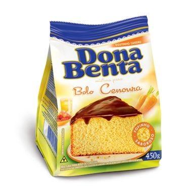 Mistura para Bolo Dona Benta Sabor Cenoura 450g