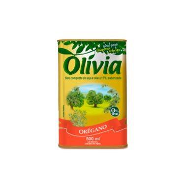 Óleo Olívia Composto de Soja e Oliva com Orégano 500ml