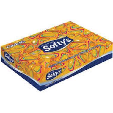 Lenços de Papel Softy's Folha Dupla c/50