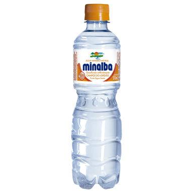 Água Mineral Minalba com Gás 510ml