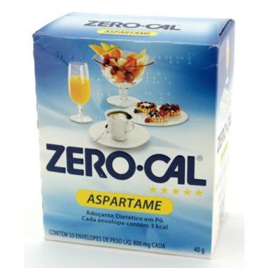 Adoçante em Pó Zero-Cal Aspartame 40g