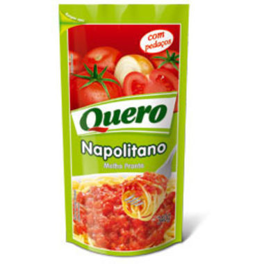Molho de Tomate Quero Napolitano Sachê 340g