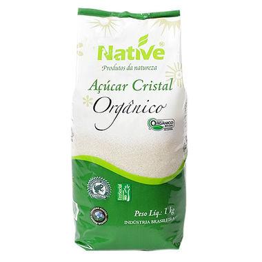 Açúcar Cristal Native Orgânico 1Kg