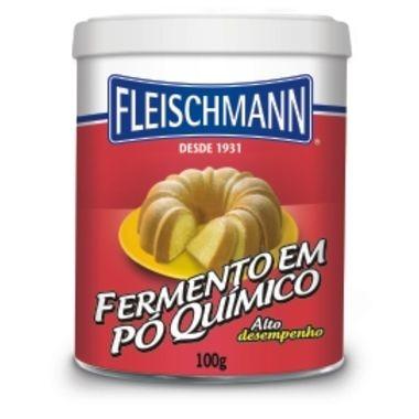 Fermento Fleischmann Químico em Pó 100g