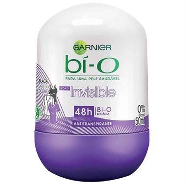 Desodorante Feminino Garnier Bí-O Invisible Black White Roll-on 50ml
