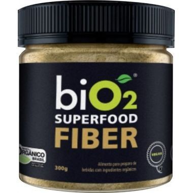 Suplemento Alimentar biO2 Superfood Fiber Pote 300g