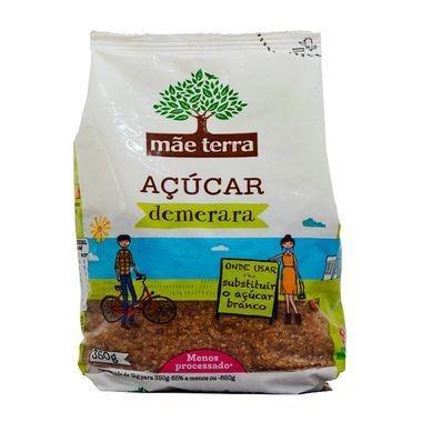 Açúcar Demerara Mãe Terra 350g