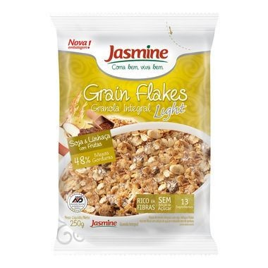 Granola Integral Grain Flakes Light Soja e Linhaça 250g