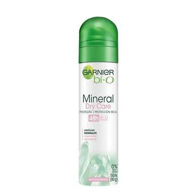 Desodorante Feminino Garnier Bí-O Mineral Dry Care Aerossol 150ml