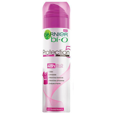 Desodorante Feminino Garnier Bí-O Protection 5 Aerossol 150ml