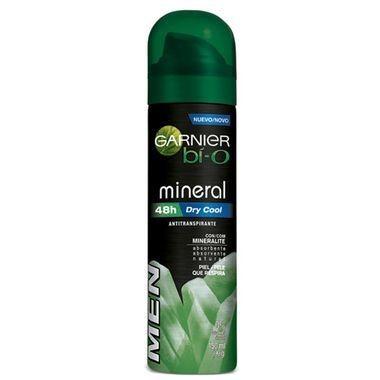 Desodorante Masculino Garnier Bí-O Mineral Dry Cool Aerossol 150ml