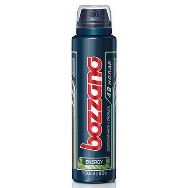 Desodorante Masculino Bozzano Energy Masculino Aerossol 150ml