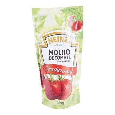 Molho de Tomate Heinz Tradicional Sachê 340g