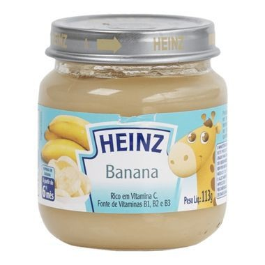 Papinha Heinz Banana 113g