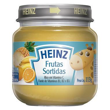 Papinha Heinz Frutas Sortidas 113g