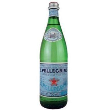 Água Mineral S. Pellegrino com Gás Garrafa 750ml