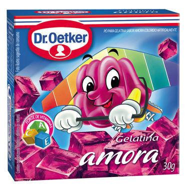 Gelatina em Pó Dr. Oetker Amora 30g