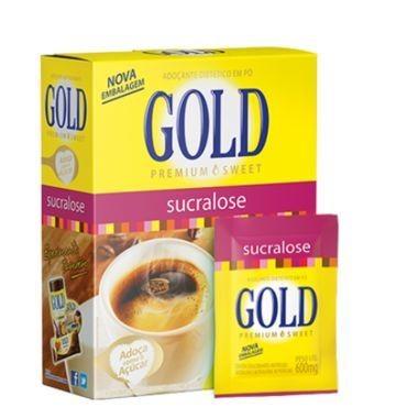 Adoçante em Pó Gold Sucralose c/50 30g
