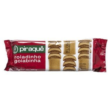 Biscoito Piraquê Roladinho Goiabinha 100g