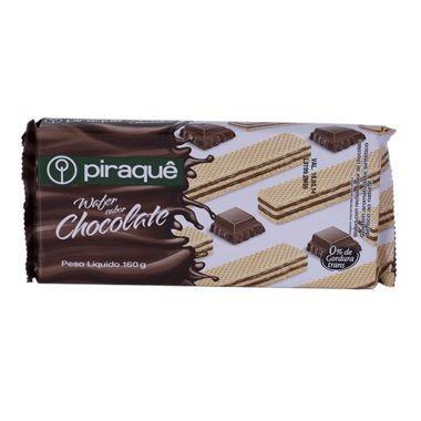 Biscoito Wafer Piraquê Chocolate 160g