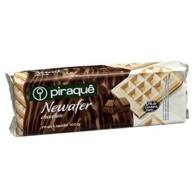 Wafer Piraquê Newafer Chocolate 100g