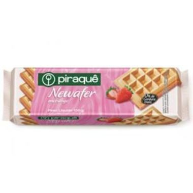 Wafer Piraquê Newafer Morango 100g