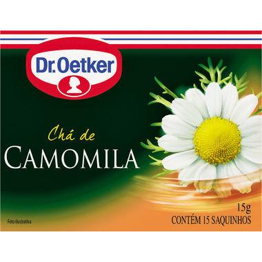 Chá Dr. Oetker Camomila c/10 Saquinhos 10g