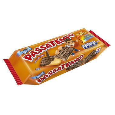 Biscoito Nestlé Passatempo Leite Coberto com Chocolate 120g