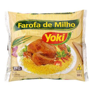 Farofa de Milho Yoki Pronta 500g