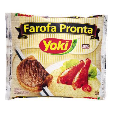 Farofa Pronta Yoki Temperada 500g