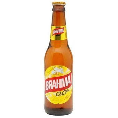 Cerveja Brahma sem Álcool Long Neck 355ml