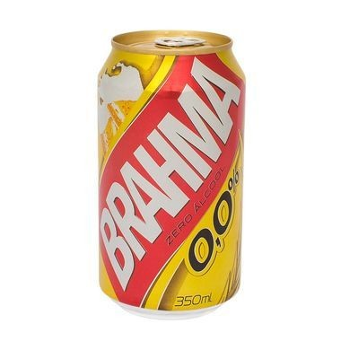 Cerveja Brahma sem Álcool Lata 350ml