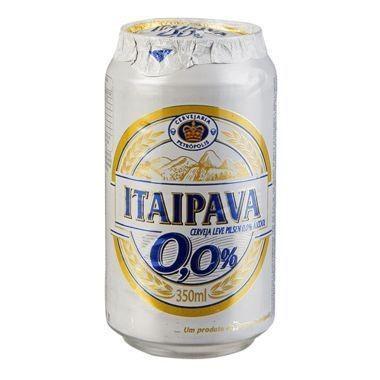 Cerveja Itaipava sem Álcool Lata 350ml