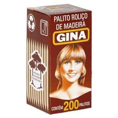 Palito de Dente Gina c/200