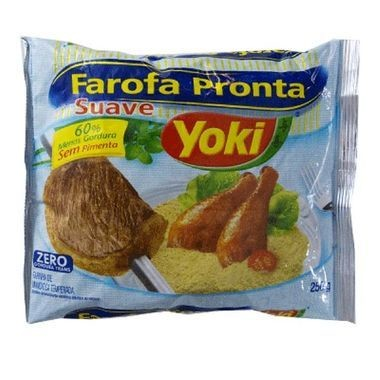 Farofa Pronta Yoki Suave 250g