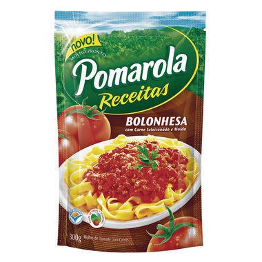 Molho de Tomate Pomarola Bolonhesa Sachê 300g