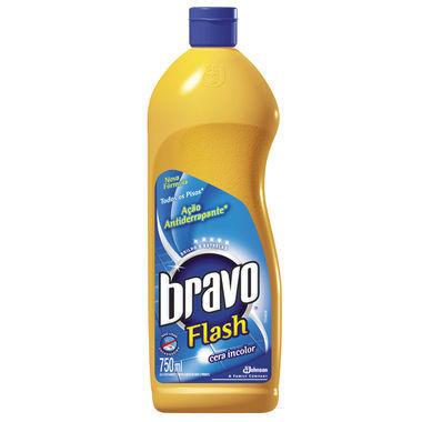 Cera Incolor Bravo Flash 750ml