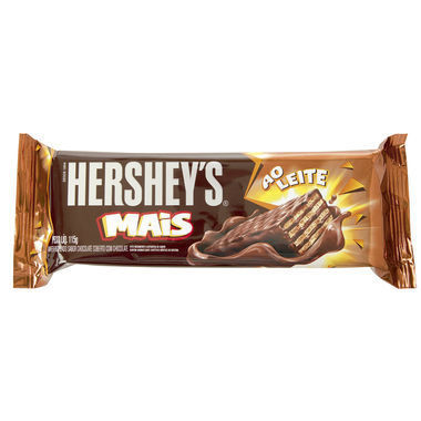 Wafer Hershey's Mais Chocolate ao Leite 115g