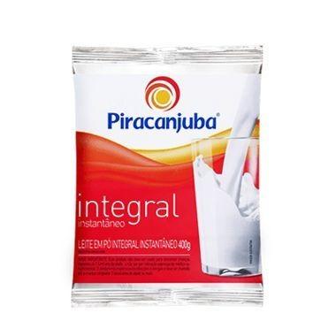 Leite em Pó Piracanjuba Integral  Instantâneo 400g