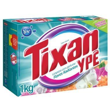 Detergente em Pó Tixan Ypê Flores Radiantes 1Kg