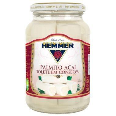Palmito Hemmer Açaí Tolete em Conserva 300g