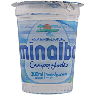 Água Mineral Minalba sem Gás Copo 200ml