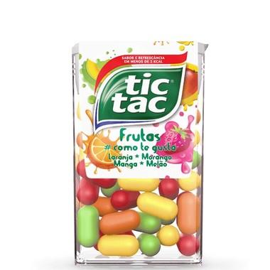 Pastilha tic tac Frutas 16g