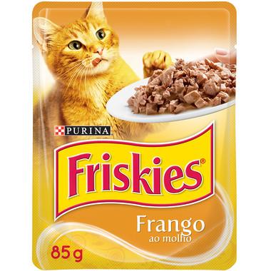 Ração para Gatos Friskies Frango Sachê 85g