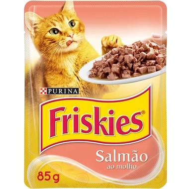Ração para Gatos Friskies Salmão Sachê 85g