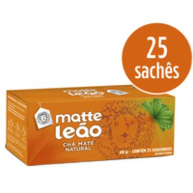 Chá Matte Leão Mate Natural c/25 Saquinhos 40g